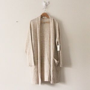 NWT Susina Knitted Long Cardigan 2236